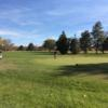 A fall day view from Elmwood Golf Course.