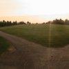 A view of fairway #1 at Stratton Golf Club.