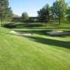 A view of green #13 at Lewiston Golf & Country Club.