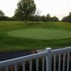A view of a green at Baker Park Golf Course (Kewanee Park District).
