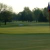 A view of a hole from University of Illinois Golf Course.