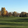A fall day view of a fairway at Rosman Glendale Shelby County Golf.