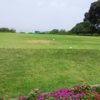 A view of a tee at Feng Yuan Golf & Country Club (Chen Zhanqiu).
