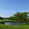 A view of a tee at Nan Pao Golf Club.