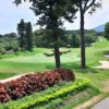 A view of a green at New Tamsui Golf Club.