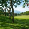 A view of a fairway at Sunwood Lake Golf Club.