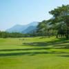 A view of a green at Sunwood Lake Golf Club.