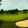A view of the 12th green at TaiFong Golf Club.