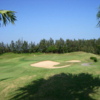 A view of hole #17 at Tong Hwa Golf and Country Club.