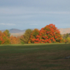 A fall day view from Sunset Hill Golf Course.