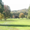 A view of a fairway at Dyer Country Club.