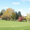 A view of a green at Dyer Country Club.