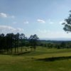 A sunny day view from Copper Basin Golf Club.