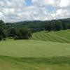A view of a green at Galax Golf Course.