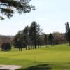 A sunny day view from Fauquier Springs Country Club.