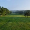 A view of fairway #9 at Wytheville Golf Course.