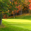 A view of a green at St. Croix Valley Golf Course.
