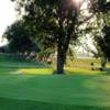 A view of a hole at Green Hills Golf Course.