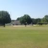 A view of a green at Yoda Creek Golf Club.