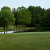 A view of a green at Lake Caroline Golf Club.