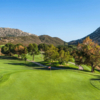 A view of a hole at Temecula Creek Inn Golf Resort.