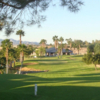 A view of fairway #9 at Riverview RV Resort.