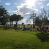 A view of the practice putting green at La Junta Golf Course.