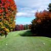 A view from a tee at Oak Ridge Golf Club.
