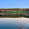 A view over the water from Black Diamond Ranch Golf & Country Club.