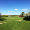 A spring day view from a tee at Old Top Farm Golf Course.
