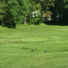 A view of a green at Ashfield Community Golf Course.