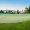 A view of a green at Whitetail Golf Club.