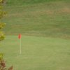 A view of a green at Horsepasture Par-3 Golf Course.