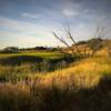 A view of a green at Ponderosa Butte Golf Course.