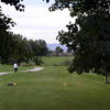 A view o a tee at Foster Gulch Golf Course.