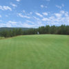 A view of the 11th green at Tannenbaum Golf Club.