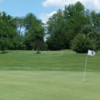 A view of hole #2 at Harvest Point Golf Course.