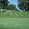 A view of the 3rd green at Deer Run Golf Course.