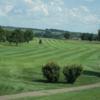 A view of a fairway at Deer Run Golf Course.