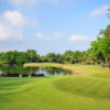 A view from tee #16 at Rayong Green Valley Country Club.