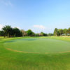 A view of the 13th green at Rayong Green Valley Country Club.