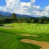 A view of a hole at Chatrium Golf Resort Soi Dao Chanthaburi.