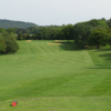 A sunny day view from the red tee at Ellesborough Golf Club.