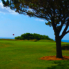 A view of a hole at Falmouth Golf Club.