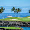 A view from the South course at Mauna Lani Resort