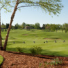 A view of the driving range at Minnehaha Country Club.