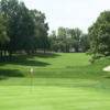 A view of a hole at Highland Park Golf Course.