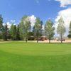 A view of a green at Fox Run Golf Course.