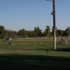 A view of the driving range at Coronado Golf Course.