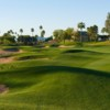 A view of a fairway at Superstition Springs Golf Club.